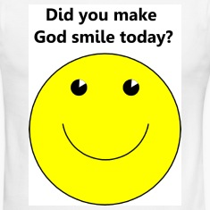 Smiley face for God t-shirt