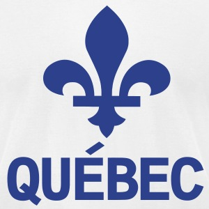 Québec T-Shirts - Men's T-Shirt by American Apparel