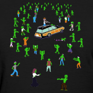 Design ~ Organ Trail Zombie Horde Shirt (For the Ladies)