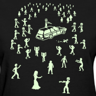 Design ~ Glow in the Dark Organ Trail Shirt (For the Ladies)