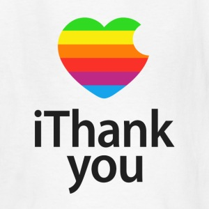 iThank You Steve Kids' Shirts - Kids' T-Shirt