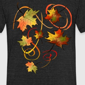 Racing The Autumn Wind - Unisex Tri-Blend T-Shirt by American Apparel