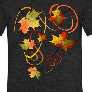 Racing The Autumn Wind - Unisex Tri-Blend T-Shirt