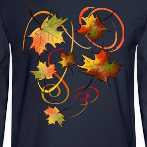 Racing The Autumn Wind - Men's Long Sleeve T-Shirt