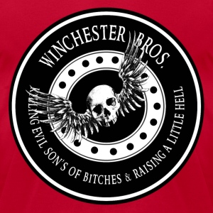 Winchester Bros Ring Patch T-Shirts - Men's T-Shirt by American Apparel