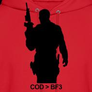 Design ~ Mens Hoodie : COD  BF3