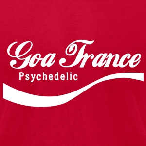 Enjoy Goa Trance Psychedelic T-Shirts - Men's T-Shirt by American Apparel