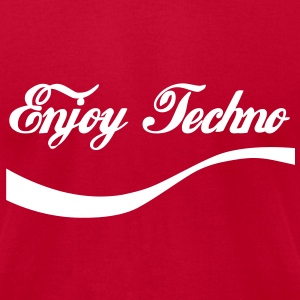enjoy Techno T-Shirts - Men's T-Shirt by American Apparel