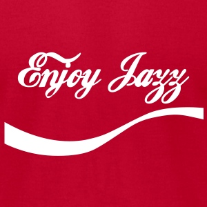 enjoy jazz T-Shirts - Men's T-Shirt by American Apparel