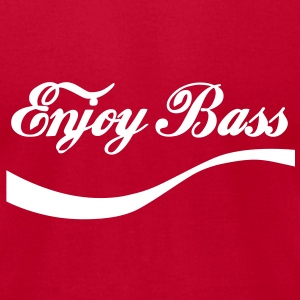 enjoy BaSS T-Shirts - Men's T-Shirt by American Apparel