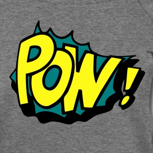 Pow! Long Sleeve Shirts - Women's Wideneck Sweatshirt