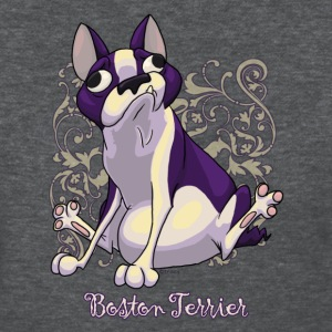 Boston Terrier Swirly - Women's T-Shirt