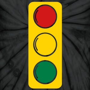 traffic lights red amber and green T-Shirts - Unisex Tie Dye T-Shirt