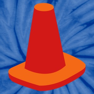 witches hat traffic cone road marker T-Shirts - Unisex Tie Dye T-Shirt