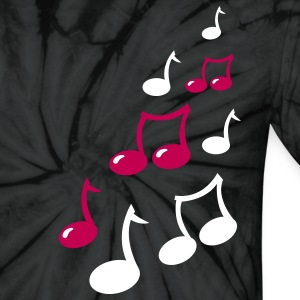 super cute musical music notes T-Shirts - Unisex Tie Dye T-Shirt