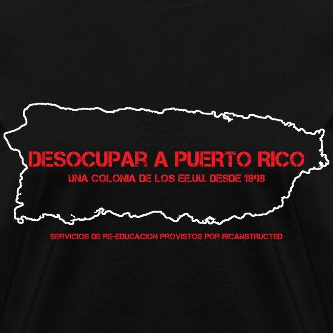 DESOCUPAR A PUERTO RICO (WOMENS CUT)