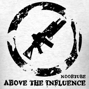 Above the Influence : Noobtube Edition T-Shirts - Men's T-Shirt