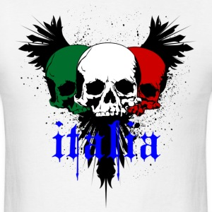 Italy Skull Tattoo - Men's T-Shirt