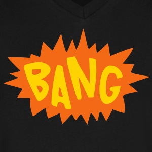 Bang T-Shirts - Men's V-Neck T-Shirt by Canvas