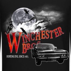 Winchester Bros Hunting Evil Since 1983 1967 chevr Long Sleeve Shirts