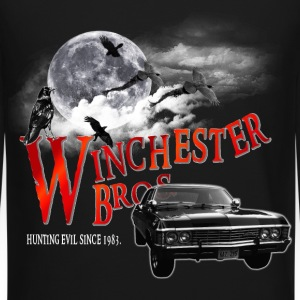 Winchester Bros Hunting Evil Since 1983 1967 chevr Long Sleeve Shirts - Crewneck Sweatshirt