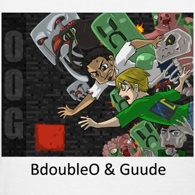 BdoubleO & Guude - Anime White Standard Weight Womens
