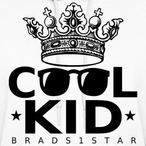 Girls crowned cool kid hoodie black women s hoodie