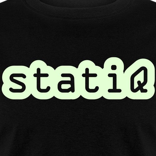 statiQ GLOW-IN-THE-DARK $10 TSHIRT!!!