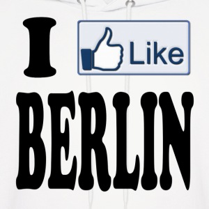 I Like Berlin Germany Hoodies - Men's Hoodie