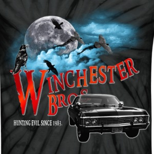 Winchester Bros Hunting Evil Since 1983 1967 chevr T-Shirts - Unisex Tie Dye T-Shirt