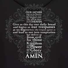 Lord's Prayer - Hoodie - Back