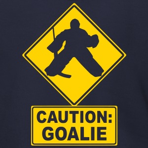 CAUTION: Goalie (hockey) Zip Hoodies/Jackets - Men's Zip Hoodie