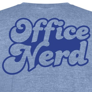 office nerd T-Shirts - Unisex Tri-Blend T-Shirt by American Apparel