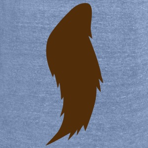 werewolf horse tail T-Shirts - Unisex Tri-Blend T-Shirt by American Apparel