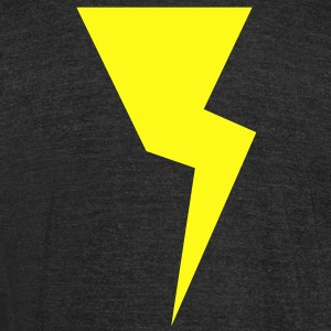 lightning two NEW T-Shirts - Unisex Tri-Blend T-Shirt by American Apparel