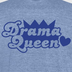 drama queen with love heart T-Shirts - Unisex Tri-Blend T-Shirt by American Apparel