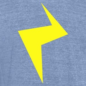 another strike lightning T-Shirts - Unisex Tri-Blend T-Shirt by American Apparel