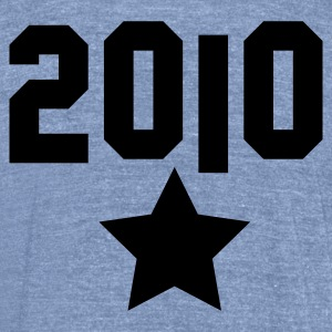 2010 silver star T-Shirts - Unisex Tri-Blend T-Shirt by American Apparel