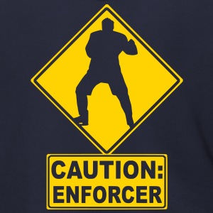 CAUTION: Hockey Enforcer Zip Hoodies/Jackets - Men's Zip Hoodie