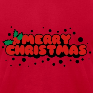 Merry Christmas T-Shirts - Men's T-Shirt by American Apparel