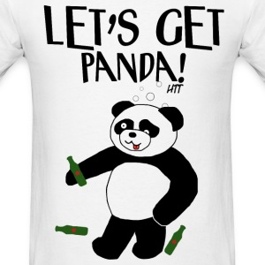 Let's Get Panda! - Men's T-Shirt