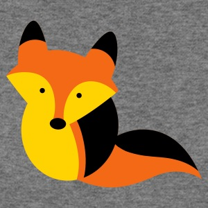 cutie little foxy vixen fox Long Sleeve Shirts - Women's Wideneck Sweatshirt