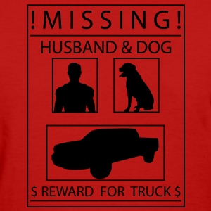 Missing (Full Poster) Women's T-Shirts - Women's T-Shirt