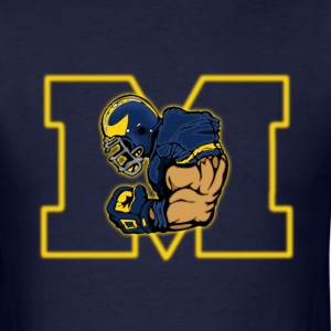 Michigan Wolverines - Men's T-Shirt