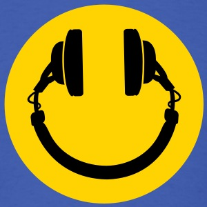 Smiley headphones T-Shirts - Men's T-Shirt