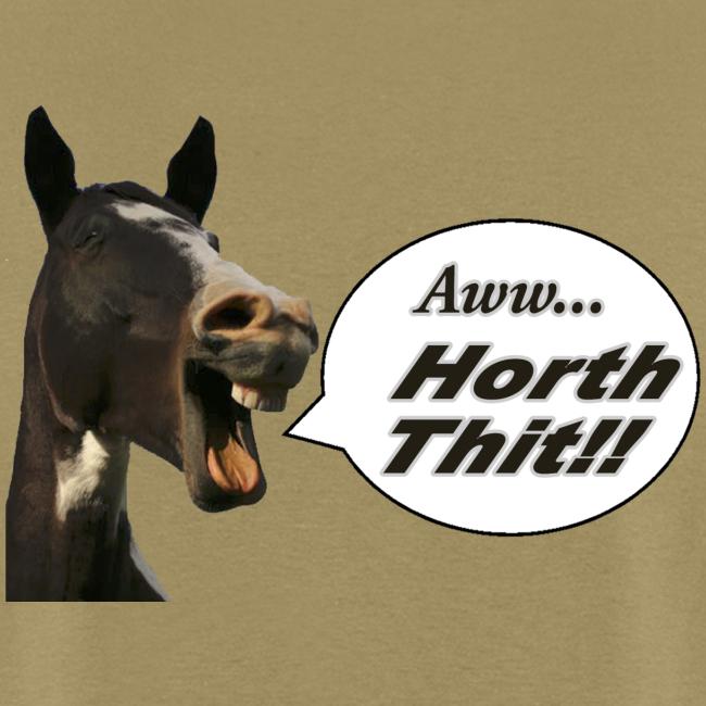 Men's Standard T- Back- Horth Thit!