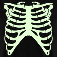 Design ~ SKELETON RIB CAGE - GLOW-IN-THE-DARK T-Shirt