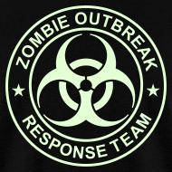 Design ~ ZOMBIE OUTBREAK RESPONSE TEAM T-Shirt GLOW-IN-THE-DARK T-Shirt