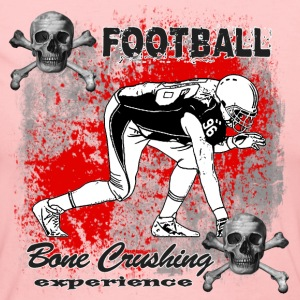 FootBall Bone Crushing experience GreyBlack Long Sleeve Shirts - Women's Long Sleeve Jersey T-Shirt