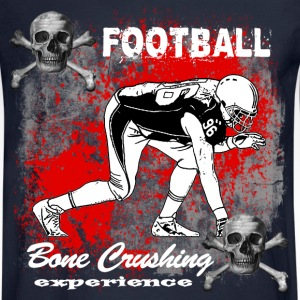 FootBall Bone Crushing experience Long Sleeve Shirts - Men's Long Sleeve T-Shirt